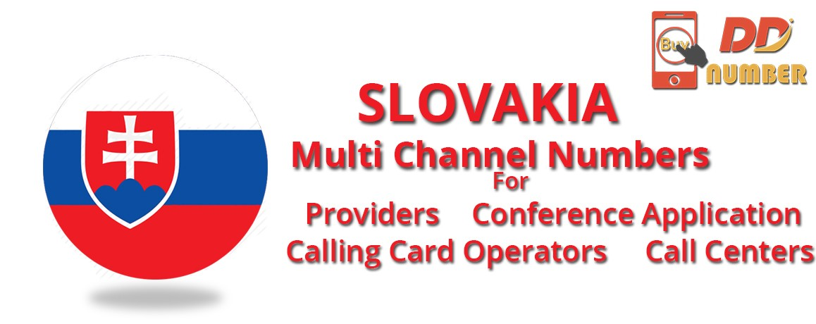 Slovakia DDI Phone Numbers with unlimited channels for Calling Cards| Call Centers