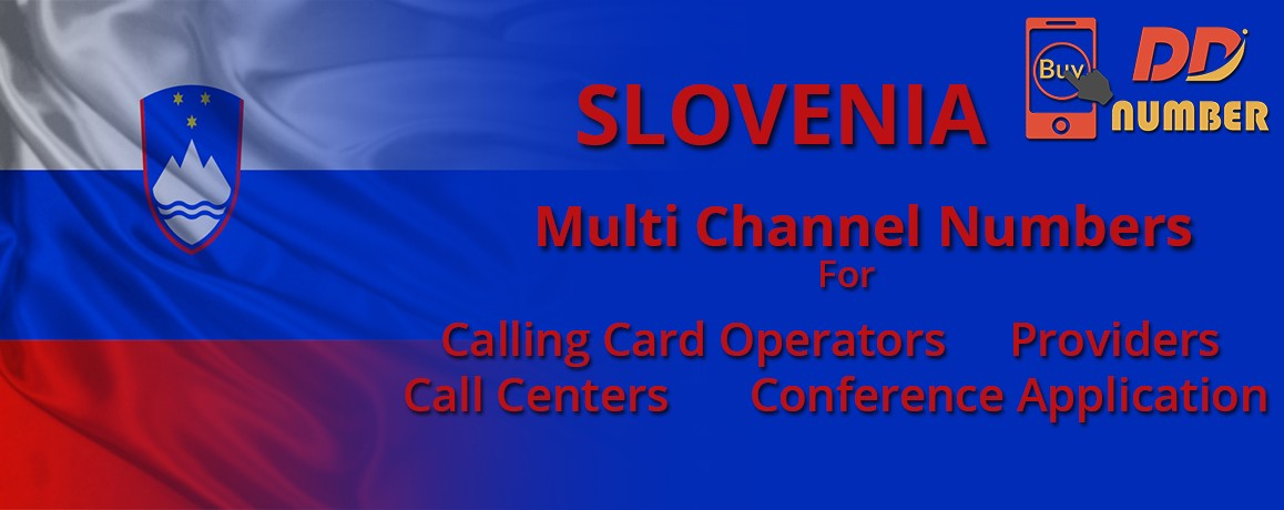 Slovenia DDI Numbers with unlimited channels for Calling Cards | Call Centers
