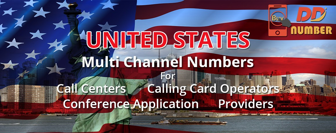 USA DDI Phone Numbers with unlimited channels for Calling Cards &  Call Centers