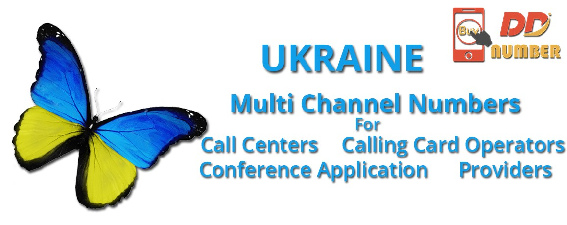 Ukraine DDI Phone  Numbers with unlimited channels for  Call Centers