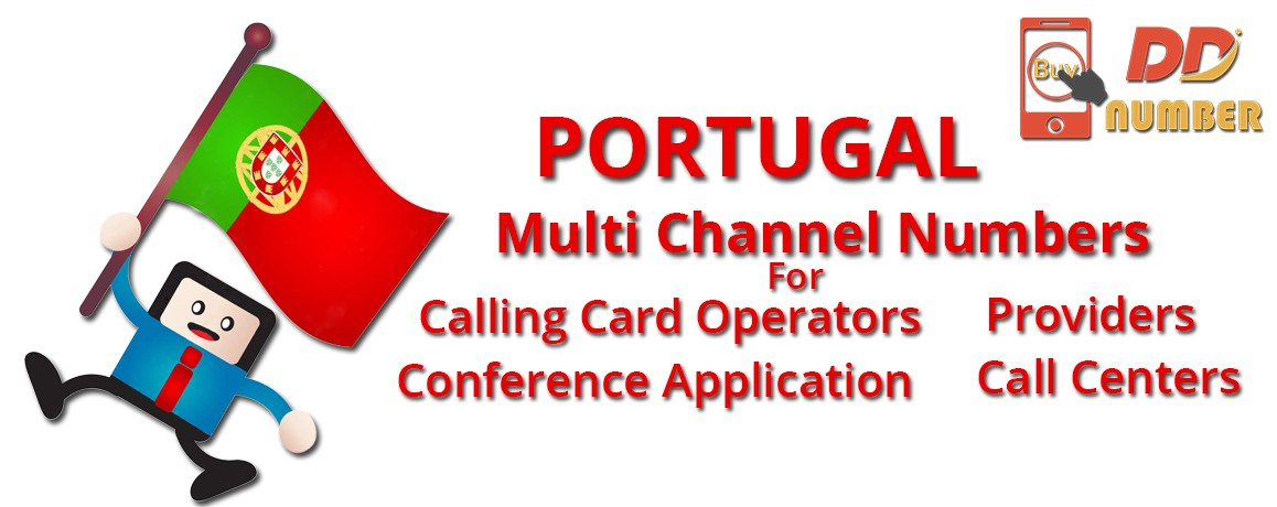 Portugal Numbers with unlimited channels for Calling Cards &  Call Centers