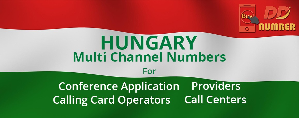 Hungary DDI Phone Numbers with unlimited channels for Calling Cards &  Call Centers