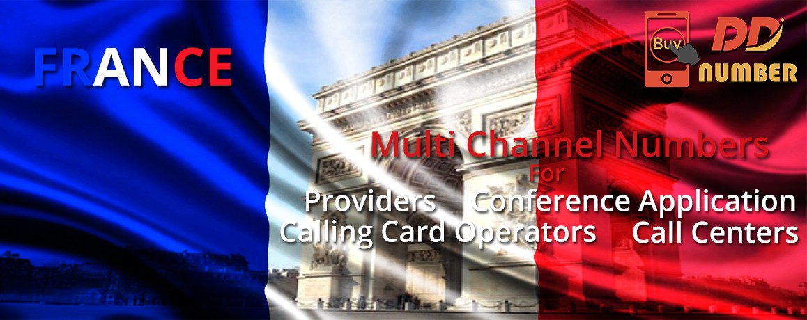 France DDI Numbers|NO Local Address proof| unlimited channels for Calling Cards &  Call Centers