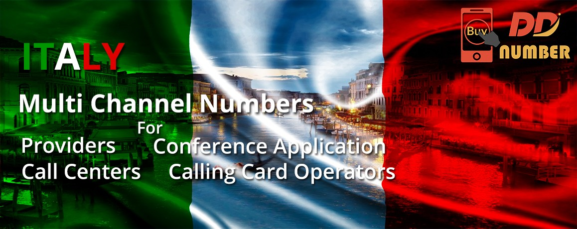Italy DDI Phone Numbers|NO Local Address Proof|unlimited channels for Calling Cards &  Call Centers
