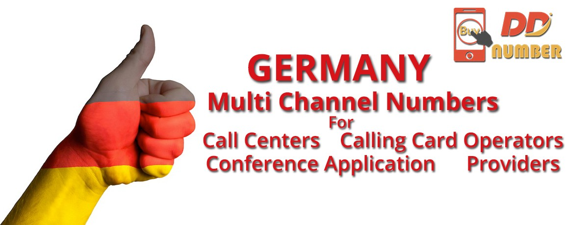 Germany DDI Phone Numbers unlimited channels| No Local