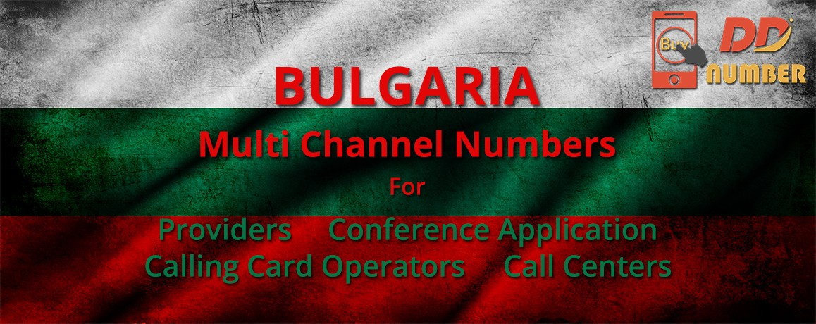 Bulgaria DDI  Numbers with unlimited channels for Calling Cards| Call Centers