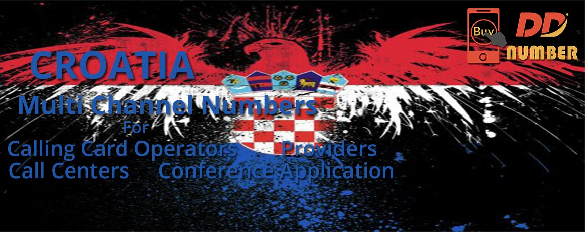 Croatia DDI Phone Number |unlimited channels |Calling Cards &  Call Centers|