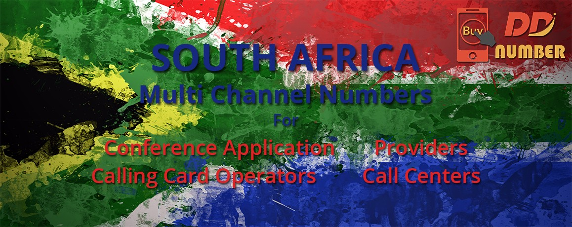 South Africa DDI Phone Number|Calling Cards &  Call Centers|unlimited channels