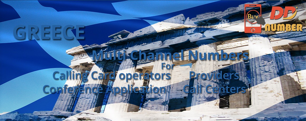 Greece DDI Numbers | Virtual Numbers| DID Numbers with Unlimited Channels | No Local Address Proof