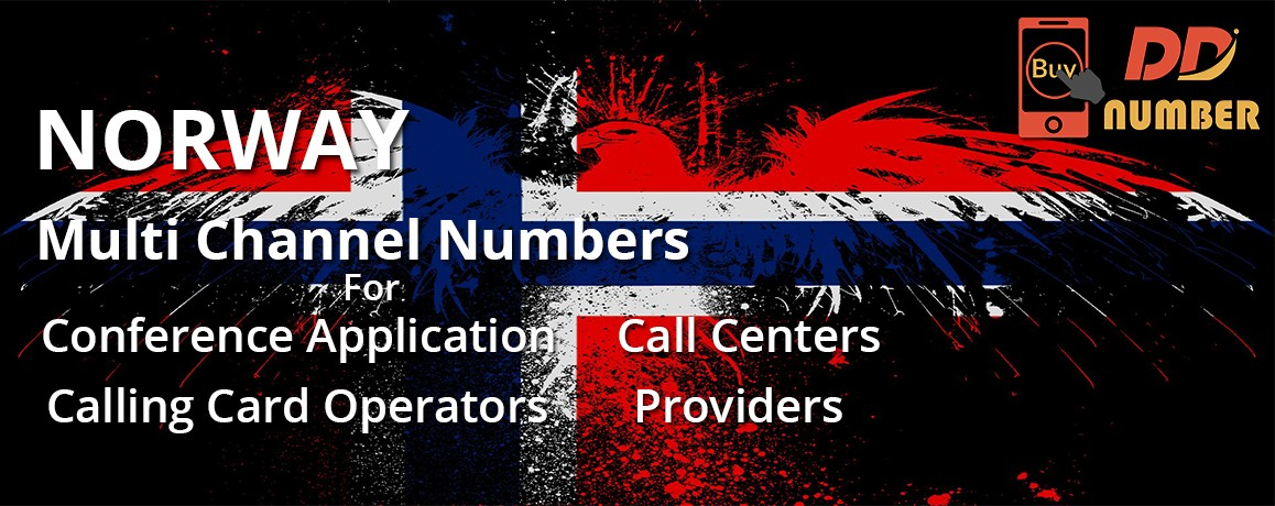 Norway DDI Phone Numbers with unlimited channels for Calling Cards &  Call Centers