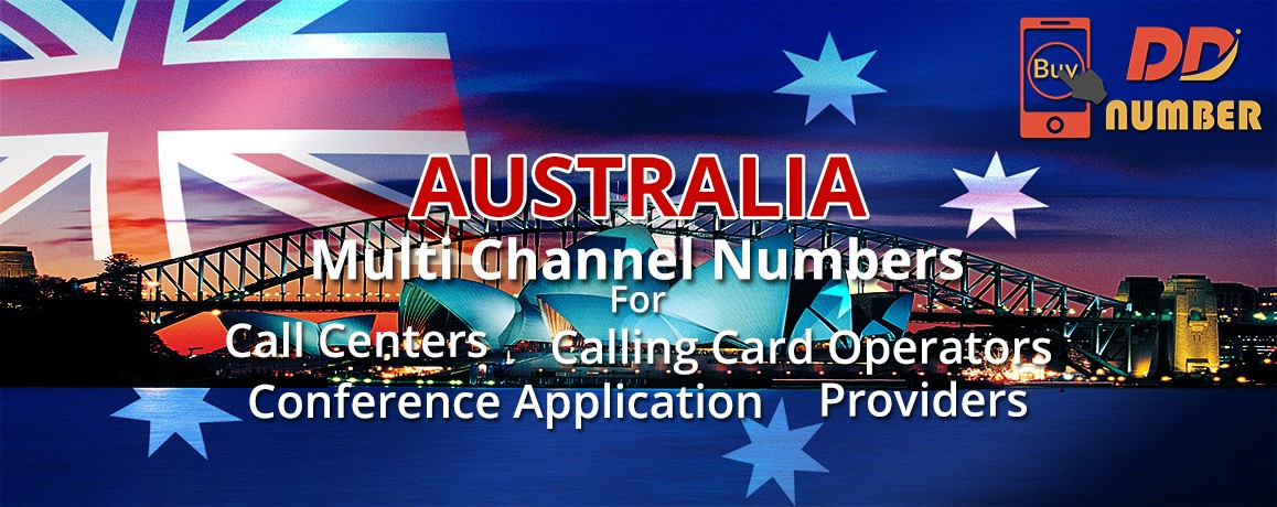 Australia DDI Phone Numbers unlimited channels|Calling Cards ,Call Centers Supported